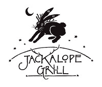 the original logo for the Jackalope Grill